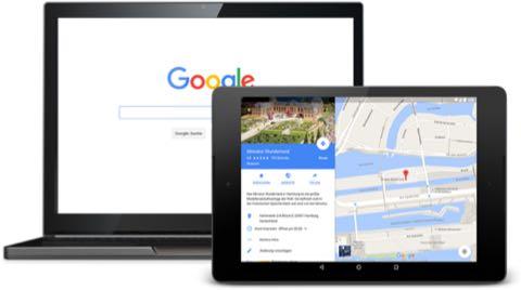 Ihr Unternehmen findet man am besten bei Google My Business, dem Firmenverzeichnis und \