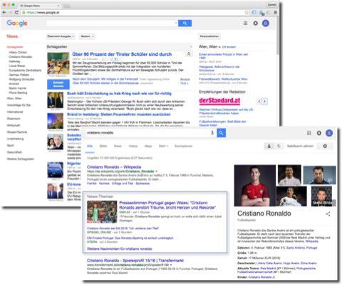 Google News Artikel erscheinen auf der News-Seite von Google und auch in den normalen Suchergebnissen. Dadurch erzielen Sie bei guter Platzierung eine enorme Reichweite.