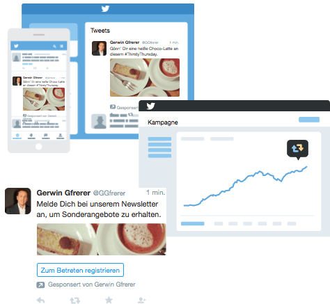 Ihre Marketing-Ziele erreichen Sie durch unterschiedliche Twitter-Ads Werbeformate.